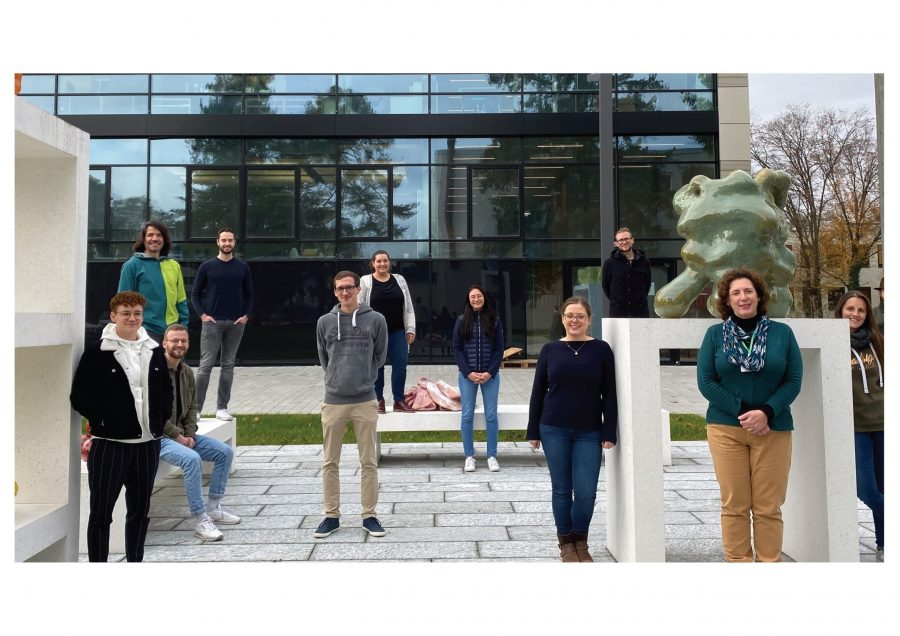 Prof. Orian-Rousseau and her research group